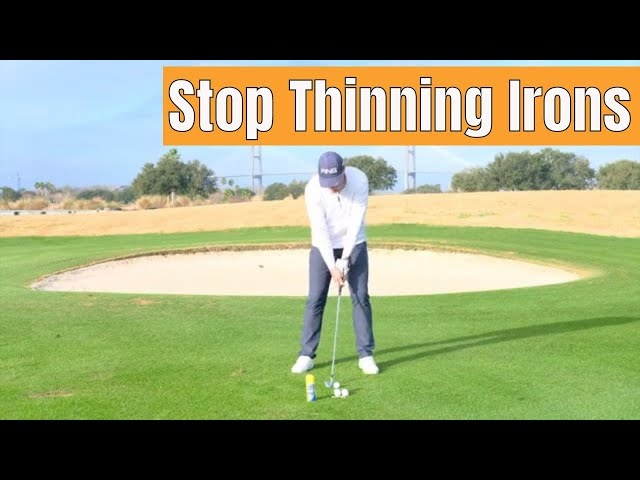 How to Stop THINNING Your Irons! (Simple Drill)