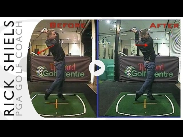 STOPPING THIN AND TOPPED GOLF SHOTS LESSON