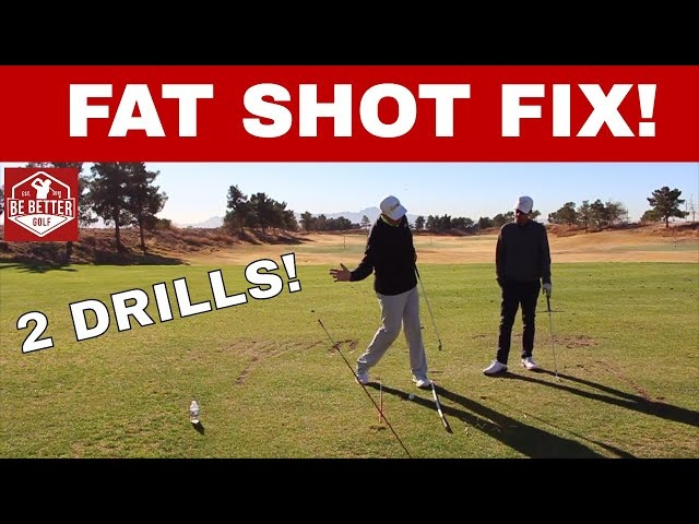 HOW TO FIX FAT SHOTS, with Tony Luczak, PGA | Be Better Golf!