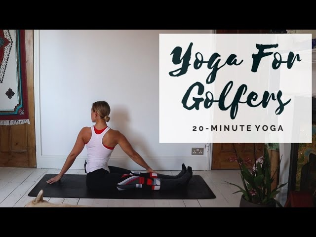 STRETCHING FOR GOLFERS | 20-Minute All Levels Yoga | CAT MEFFAN