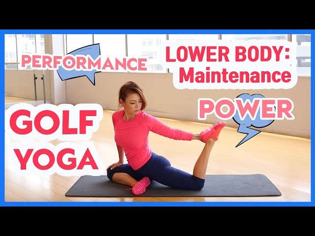 Do this to Play Greatest Golf | Golf Yoga with Aimee