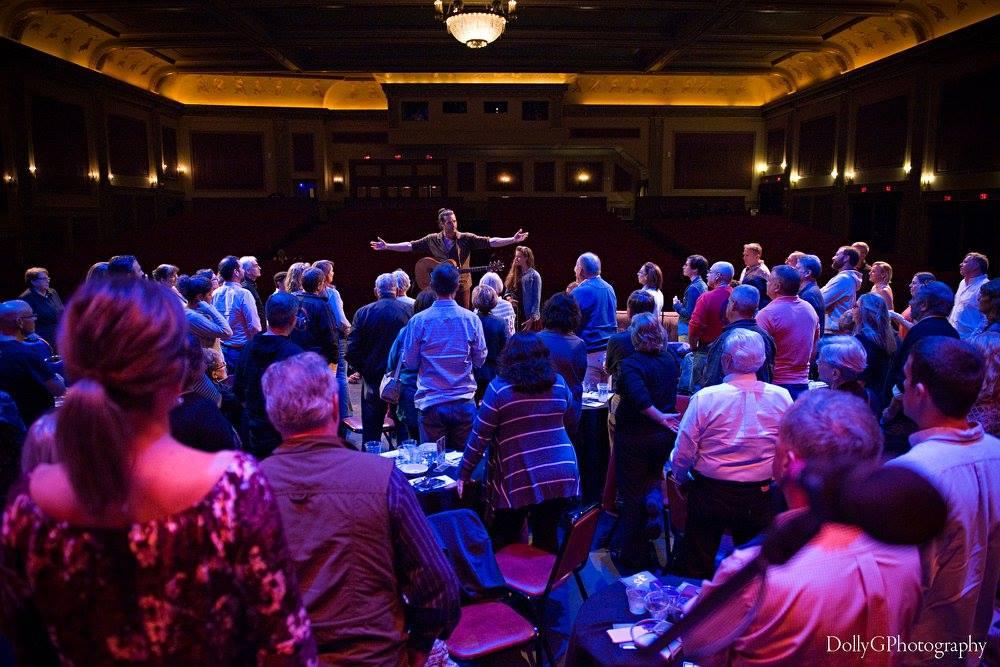 Adam Ezra Group at Stage Door Live, Zeiterion Performing Arts Center