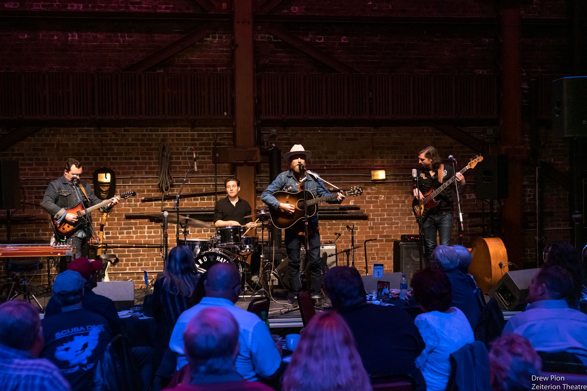 Ward Hayden and The Outliers at Stage Door Live, Zeiterion Performing Arts Center
