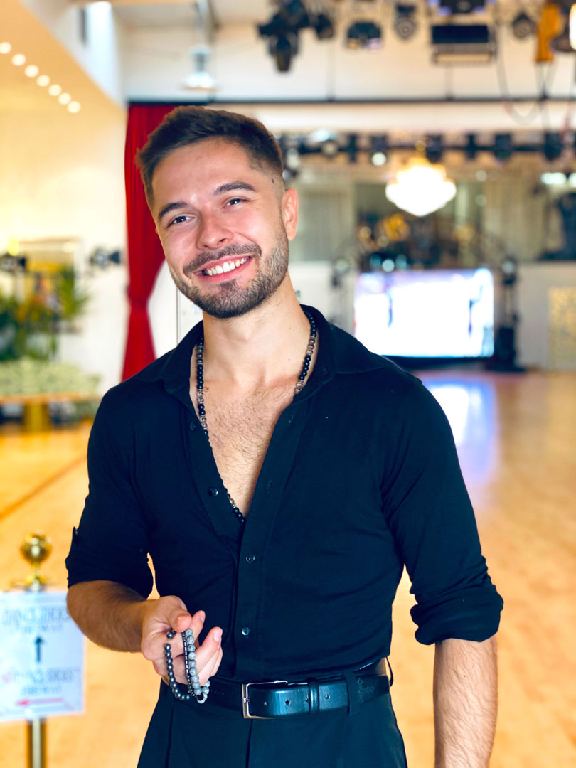 Pavel professional dance instructor