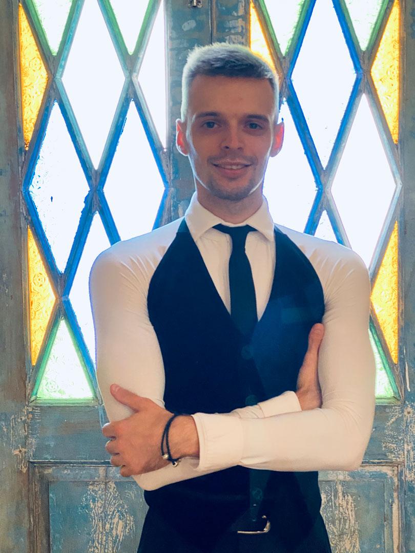 Vlad professional dance instructor