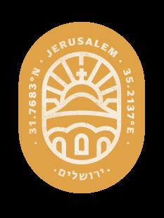 Jerusalem stamp
