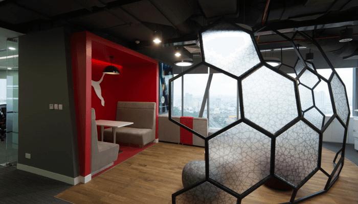 office fit out company in dubai - PUMA Headquarters