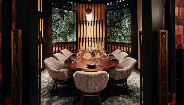 restaurant interior design in Dubai - CÉ LA VI Dubai