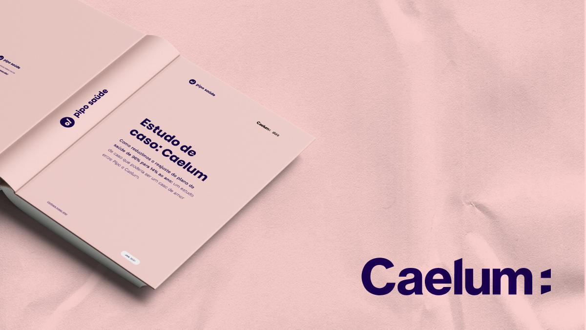 Mockup estudo de caso Caelum