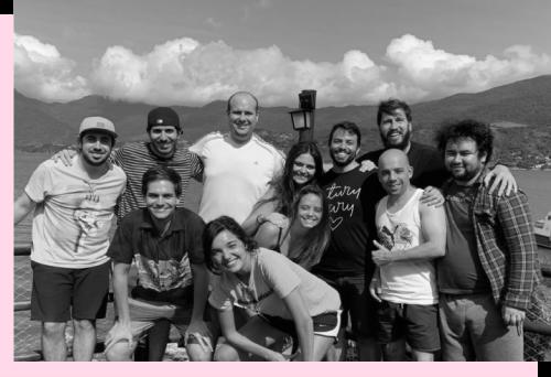 Foto de funcionários da Pipo Saúde
