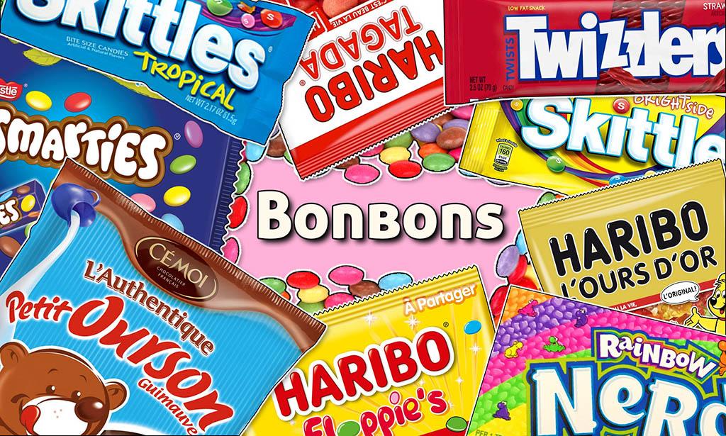 Régalez-vous avec notre mirobolante sélection de chatoyants bonbons !