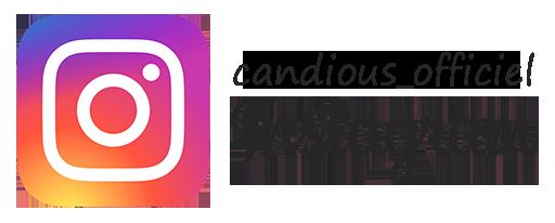 Candious épicerie en ligne compte Instagram