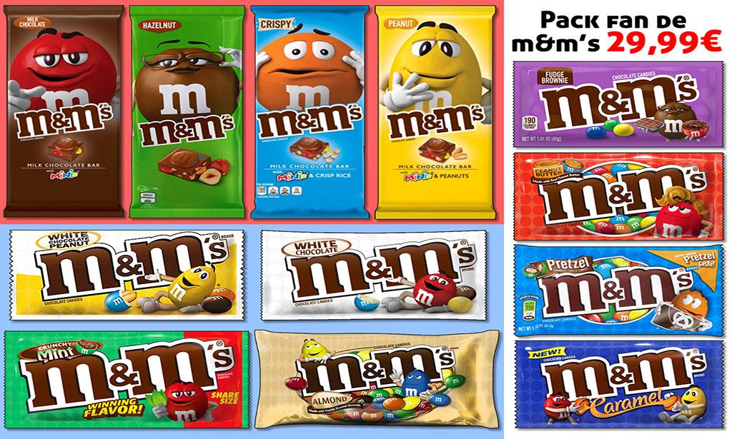 Promotion produits M&Ms, tablette M&Ms riz soufflé, tablette M&Ms