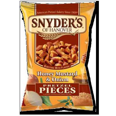 Snyder's Bits miel, moutarde et oignon (125g)