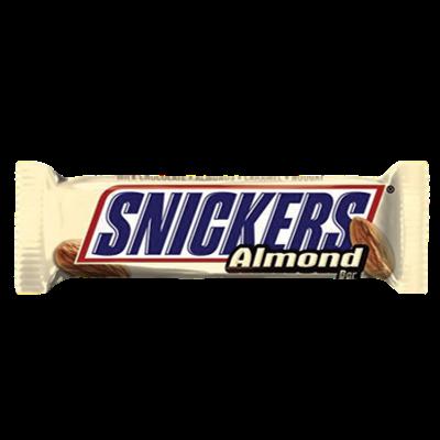 Nougat, caramel, amandes et chocolat au lait. Comment résister à cette barre chocolatée ?