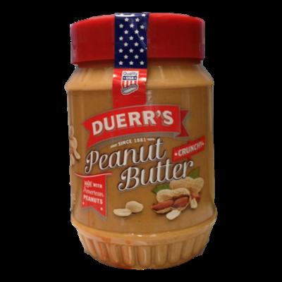 """Duerr's beurre de cacahuète """"Crunchy""""  (340g)"""