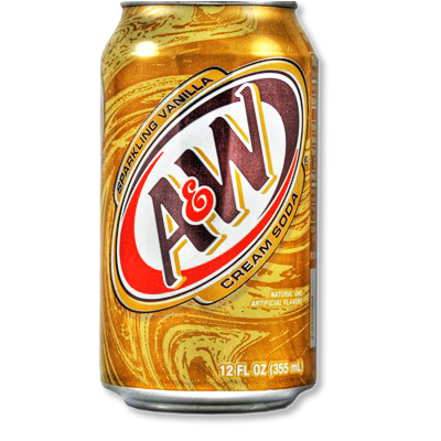 "A&W ""Cream Soda"" vanille (355ml)"