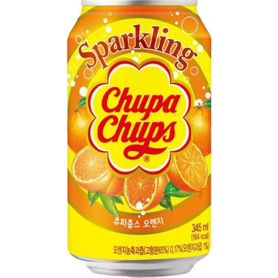Chupa Chups soda à l'orange (355ml)