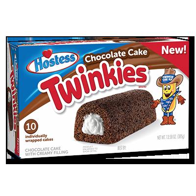 "Twinkies ""Chocolate Cake"" boîte de 10 (385g)"