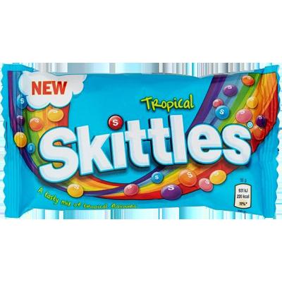 """Skittles """"Tropical"""" (61g)"""