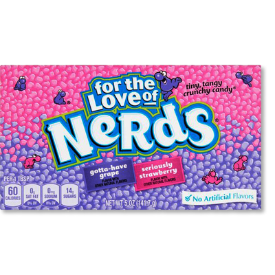 "Nerds ""Grape & Strawberry"" XL (142g)"
