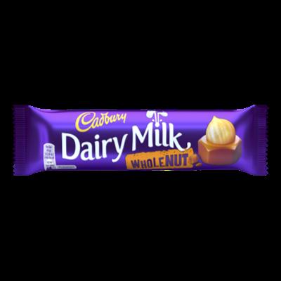 "Cadbury barre ""Dairy Milk Wholenut"" (49g)"
