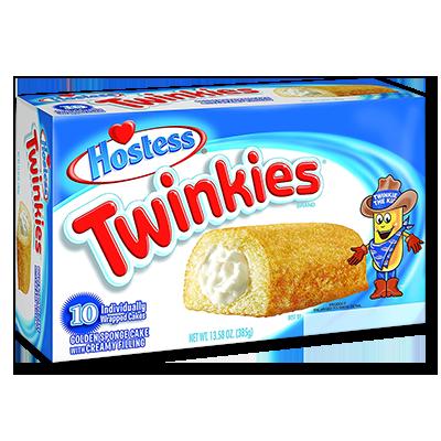 "Twinkies ""Classic"" boîte de 10 (385g)"