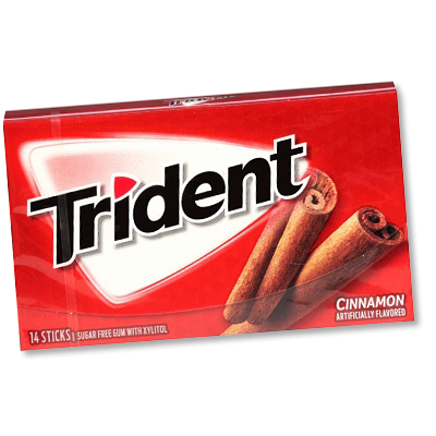 "Trident ""Cinnamon"" Sugar-free (38g)"