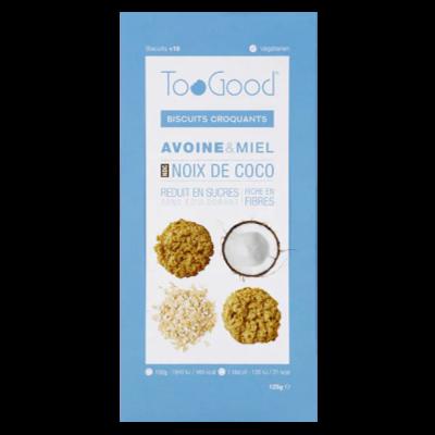 TooGood biscuits croquants noix de coco (125g)