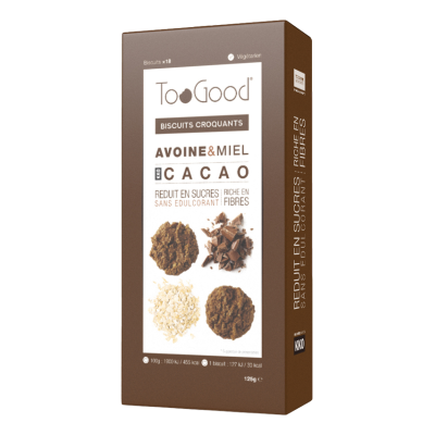 TooGood biscuits croquants cacao (125g)