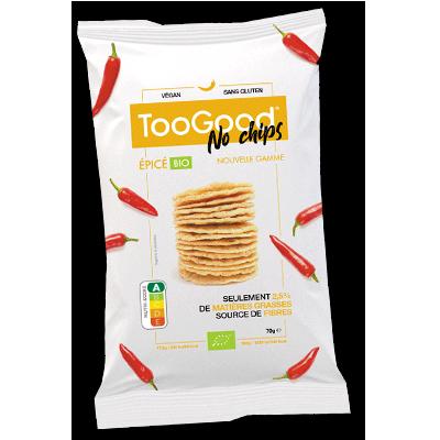"""TooGood """"No Chips"""" épicées (70g)"""