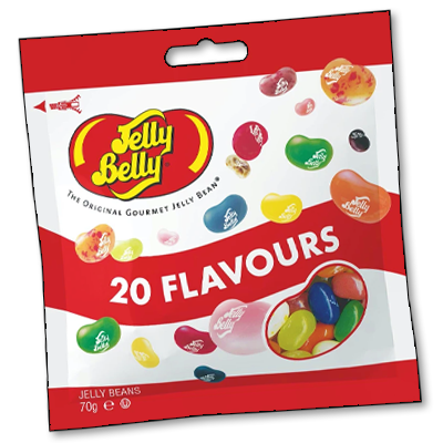 """Jelly Belly """"20 Flavors"""" (70g)"""