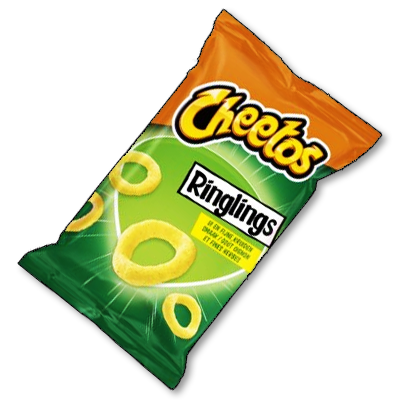 "Cheetos ""Ringlings"" oignons et fines herbes (100g)"