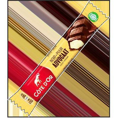 """Côte d'Or noir crème """"Advocaat"""" (45g)"""