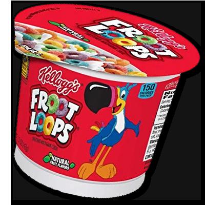 """Céréales Froot Loops """"Cup"""" (42g)"""