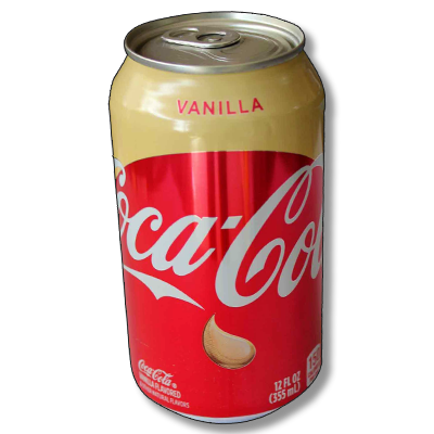 "Coca-Cola ""Vanilla"" (355ml)"
