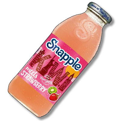 "Snapple ""Kiwi Meets Strawberry"" (473ml)"