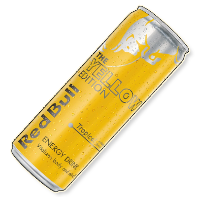 "Redbull ""Yellow"" Tropical (250ml)"