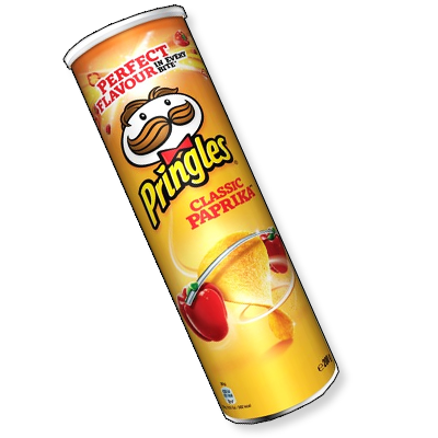 Ces tuiles croquantes de la marque Pringles, saupoudrées de paprika, se feront l'allié idéal de vos apéritifs et soirées entre amis.