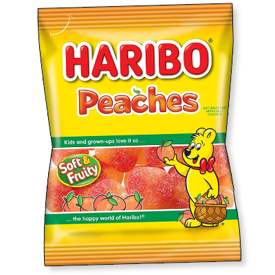 Haribo Happy Peaches (75g)