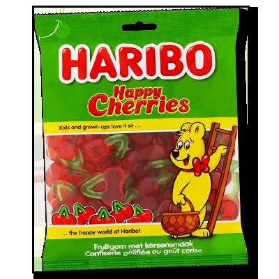 La plus juteuse des friandises Haribo, ces bonbons soft à la cerise sont à la fois généreux et un bonheur pour les papilles. Mangez-en une cerise (la moitié), ou dévorez cette douceur toute entière, seul vous pouvez décider.