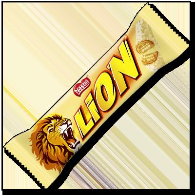 Vous connaissez tous la barre lion, avec sa gaufrette croustillante, son caramel et son revêtement de chocolat croustillant, mais saviez-vous qu'elle existe aussi enrobée de chocolat blanc ? Cette barre est pour vous, gourmands !