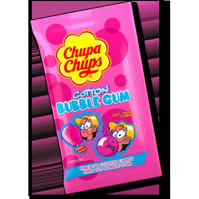 "Chupa Chups Cotton bubble Gum ""Tutti Frutti"" (11g)"