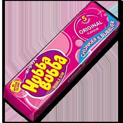 "Wrigley's Hubba Bubba Bubble Gum ""Original"" (40g)"
