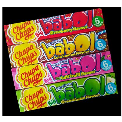 "Chupa Chups ""Big Babol"" x 4 (110g)"