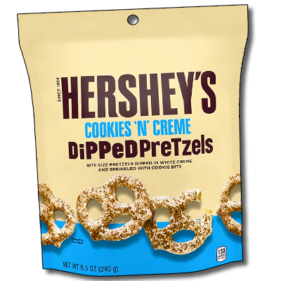 "Hershey's ""Cookies & Cream"" USA Dipped Pretzels XL (240g)"