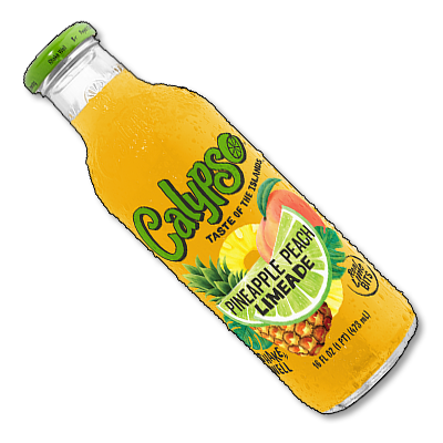 "Calypso USA ""Pineapple Peach Limeaide"" (473ml)"