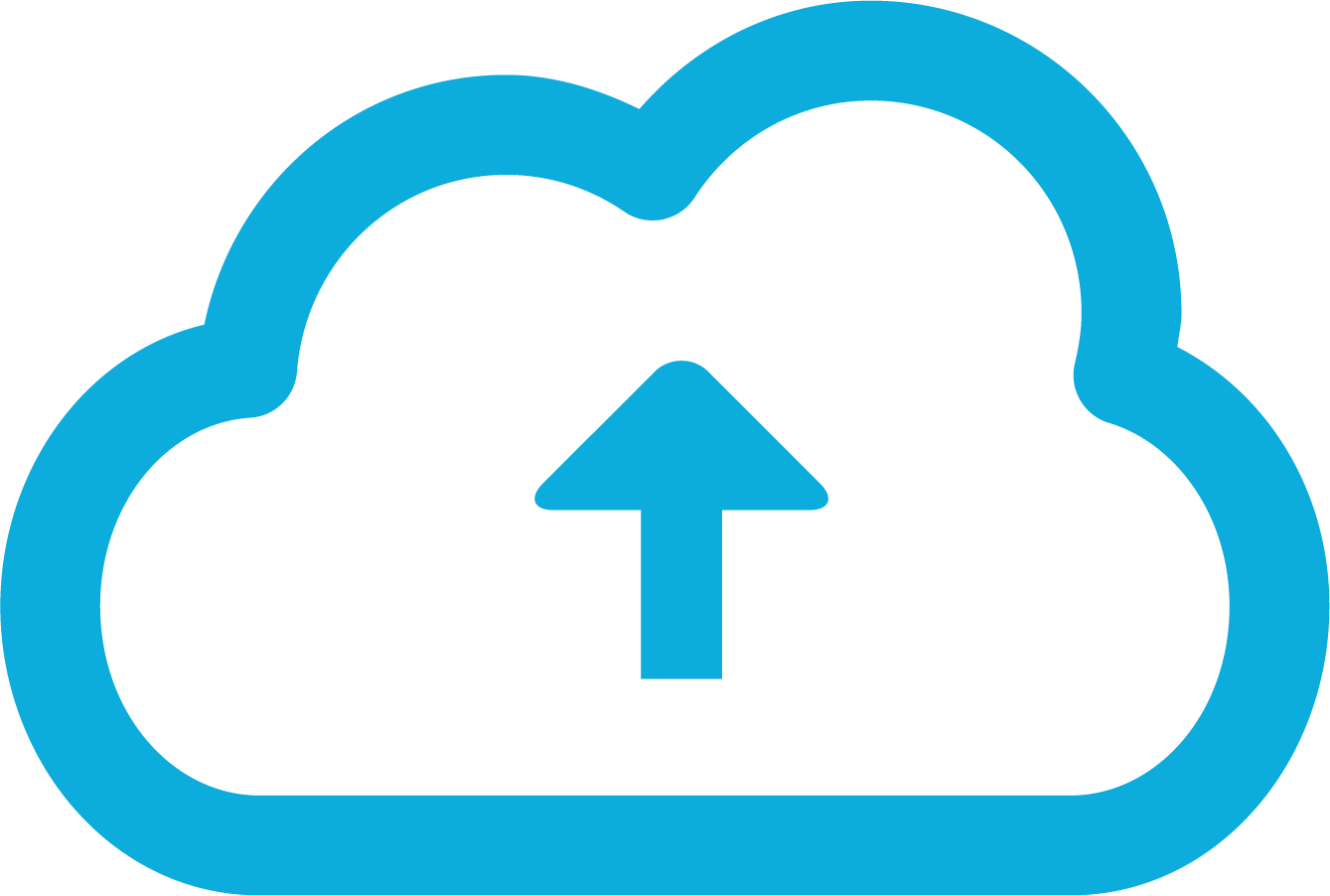 cloud computing upload icon