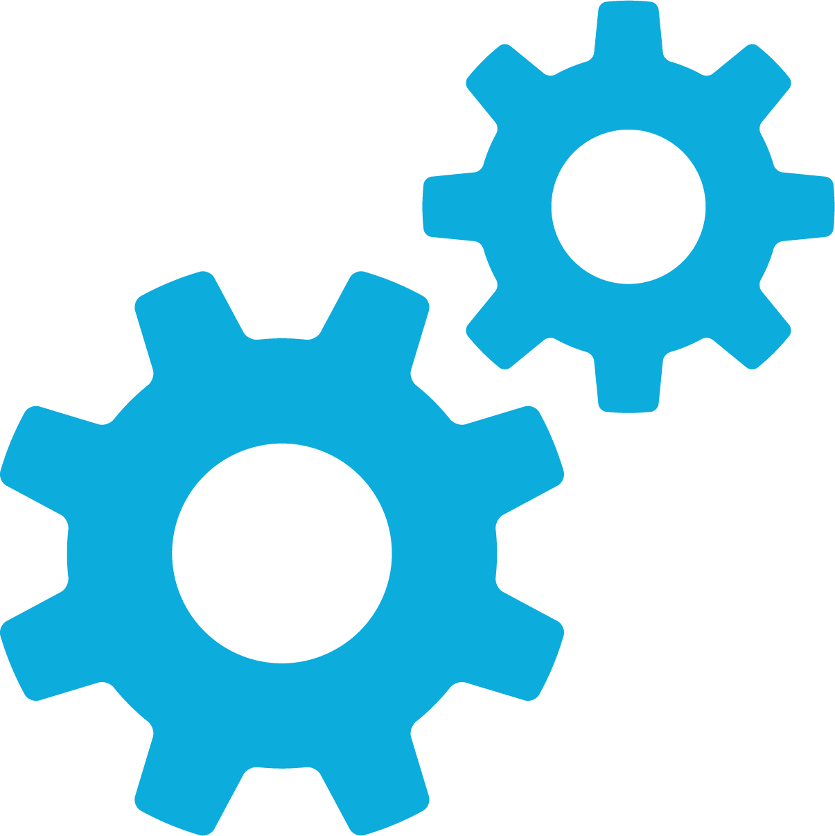 automation and configuration gear icon
