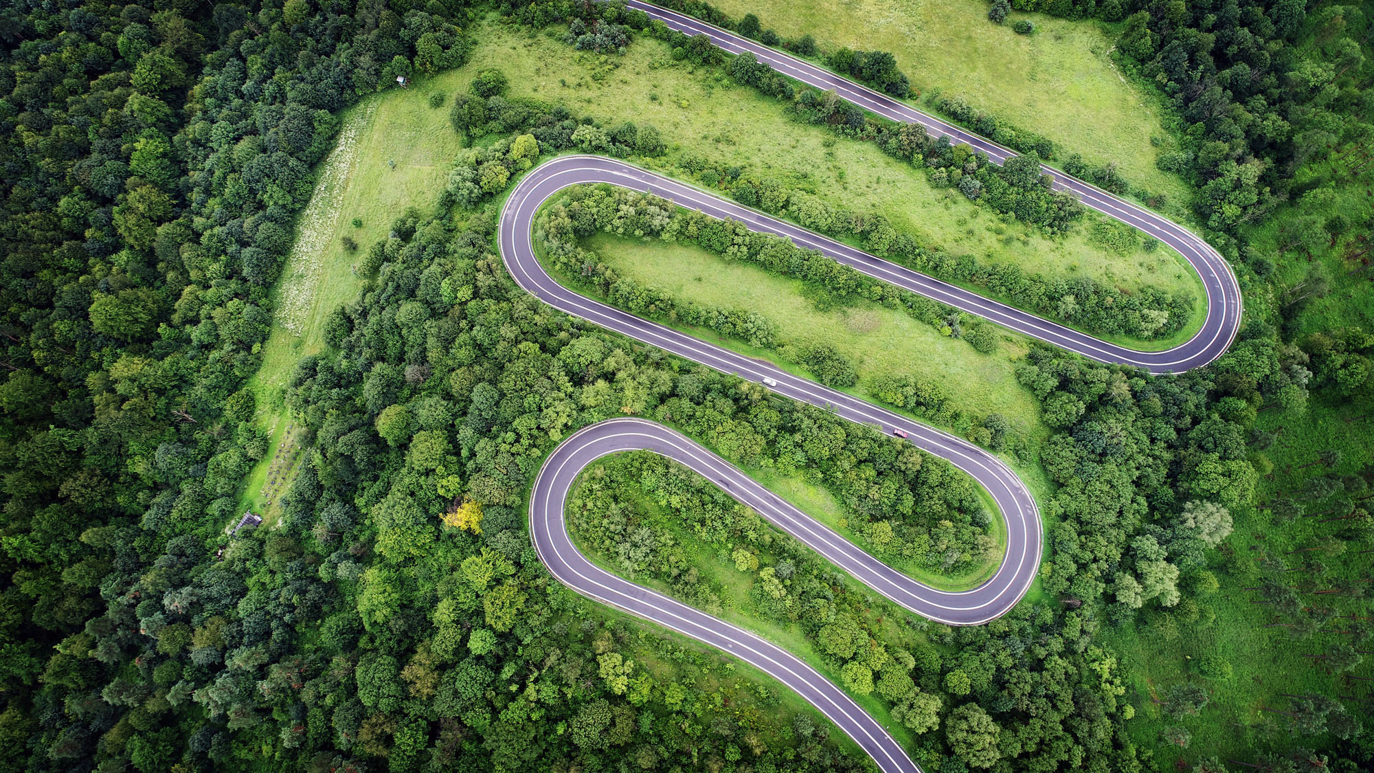 winding road representing your digital transformation path